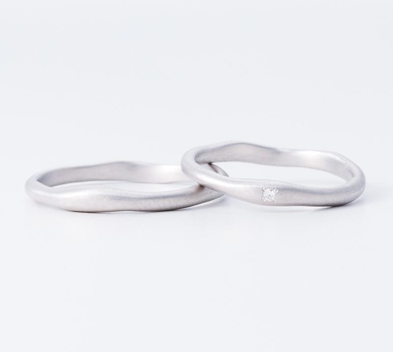 Argile・結婚指輪・Blue Dove