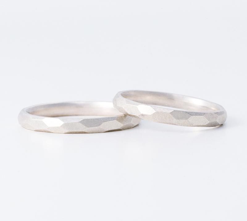 Ruche・結婚指輪・Blue Dove