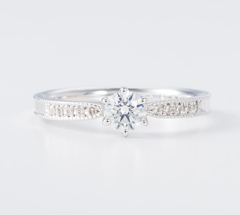 lux no3・婚約指輪・Blue Dove