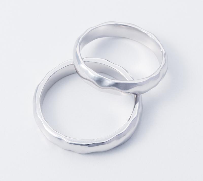 caelum no2・結婚指輪・Blue Dove
