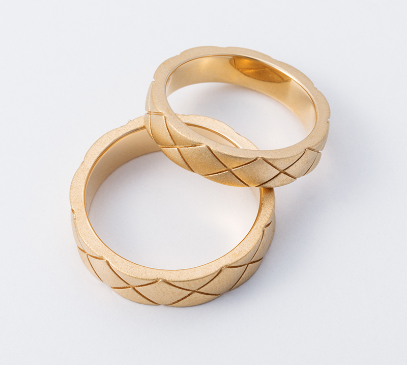 ventus no1・結婚指輪・Blue Dove