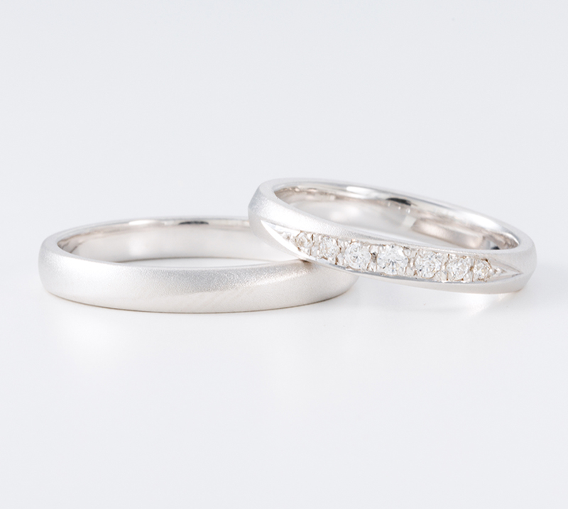 sanctus no2・結婚指輪・Blue Dove