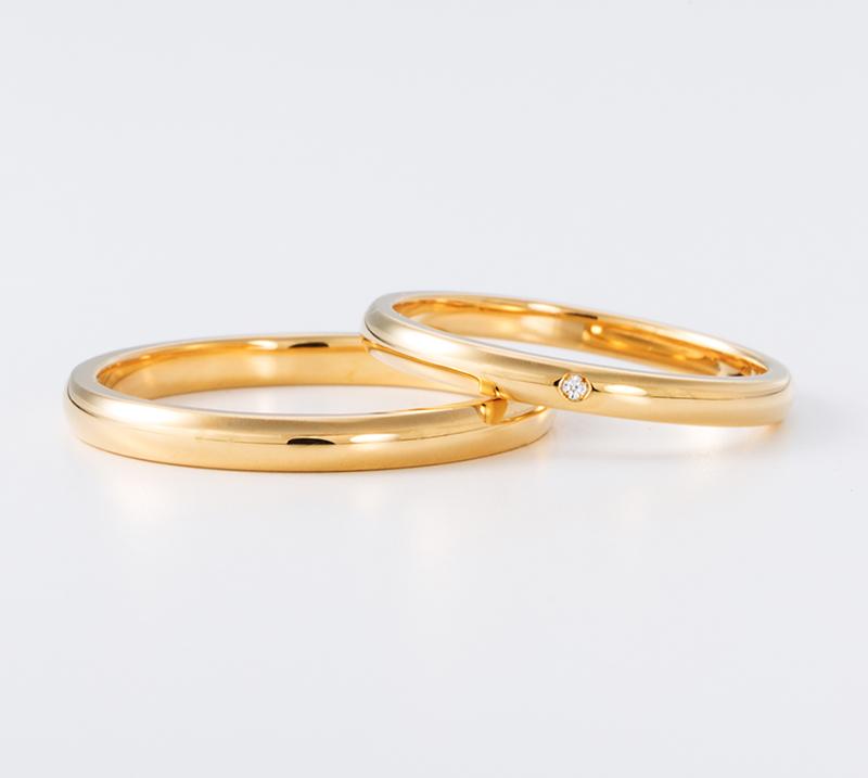 sanctus no3・結婚指輪・Blue Dove