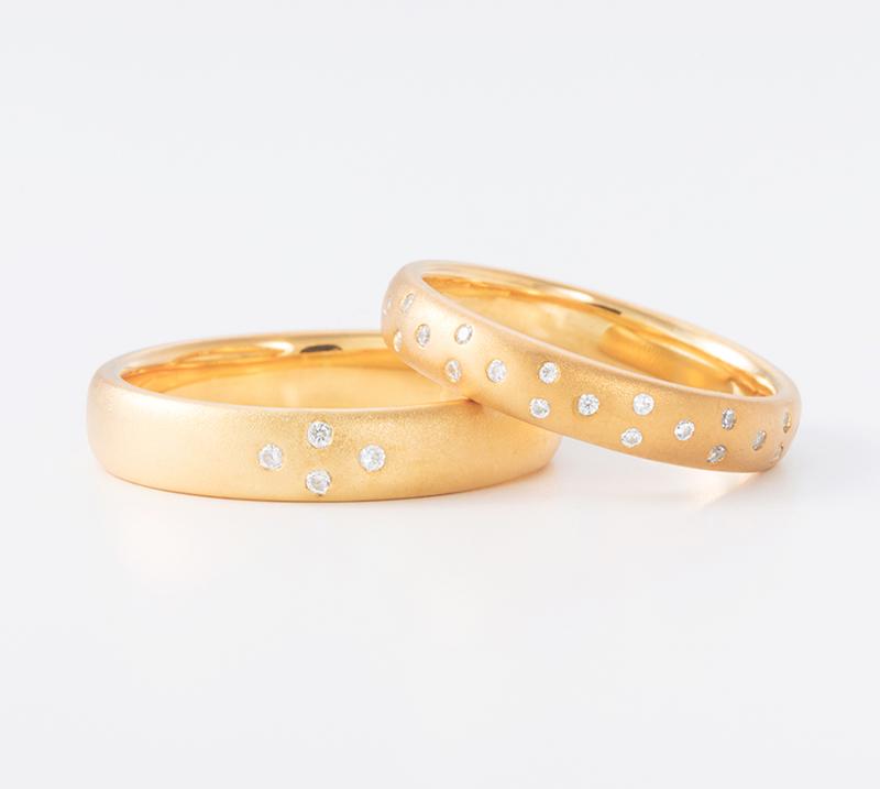 ventus no2・結婚指輪・Blue Dove
