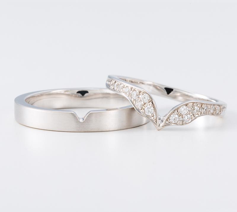 lacus no2・結婚指輪・Blue Dove