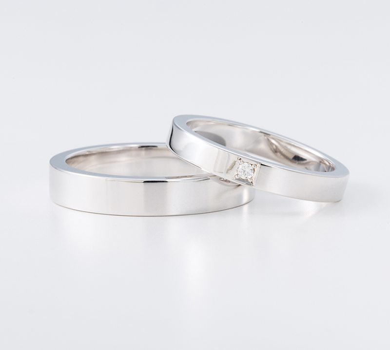 sanctus no5・結婚指輪・Blue Dove