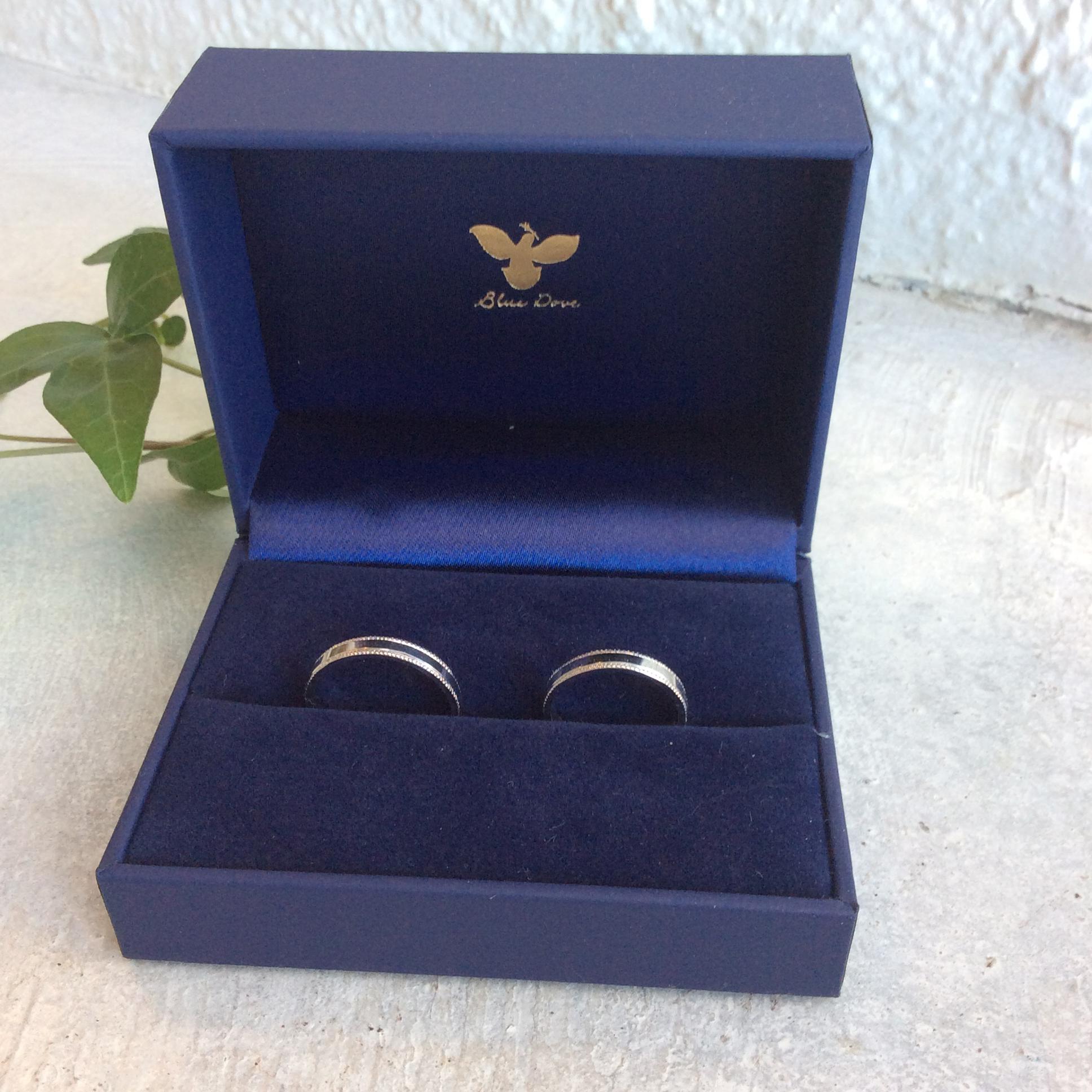 結婚指輪〜プラチナリング〜