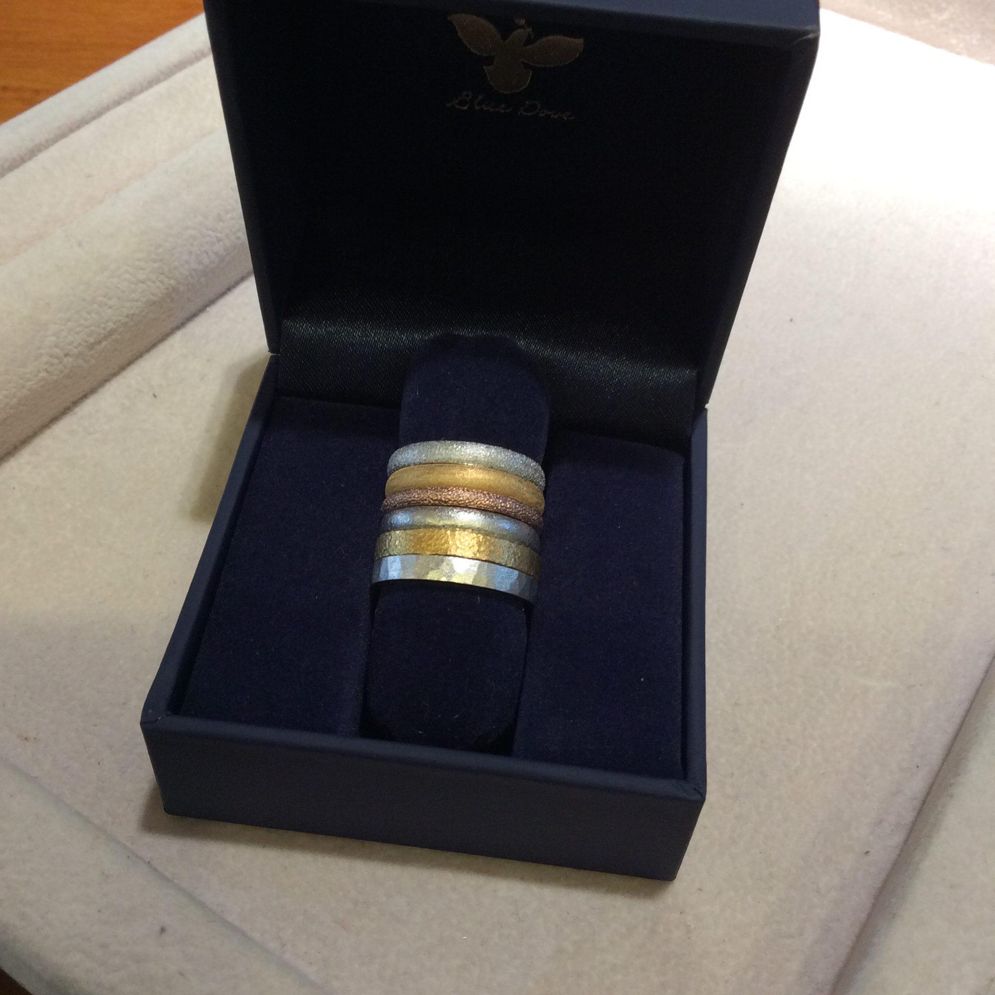 結婚指輪《テクスチャー違い》