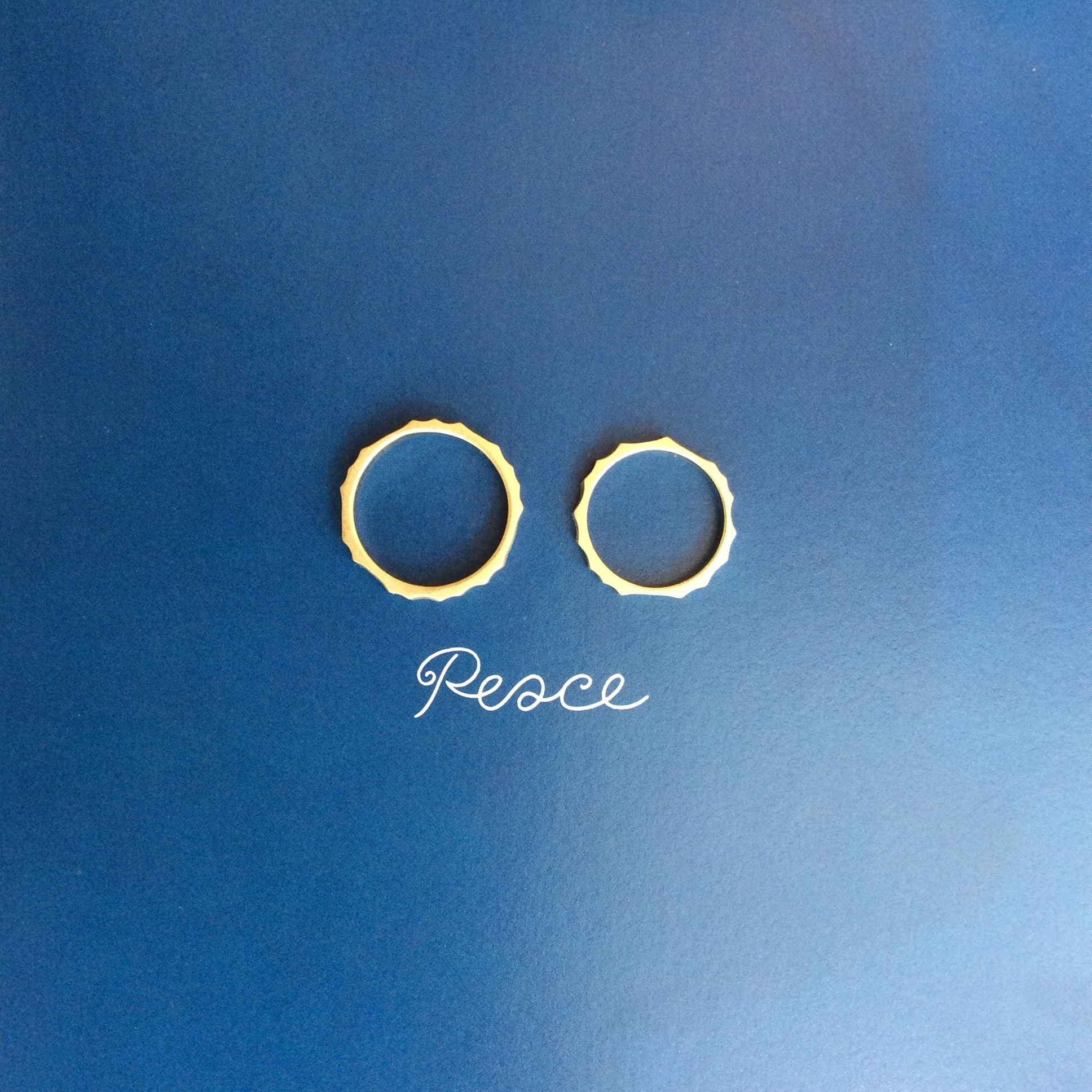 Blue Dove 結婚指輪