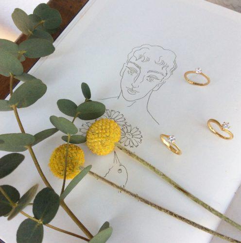 婚約指輪・ソリテールリング
