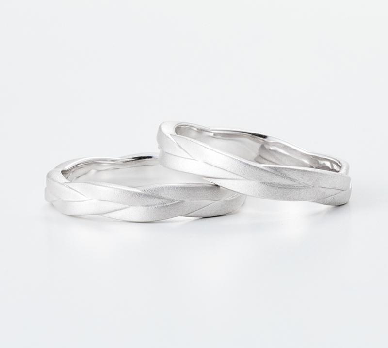 AIOI no2・結婚指輪・Blue Dove