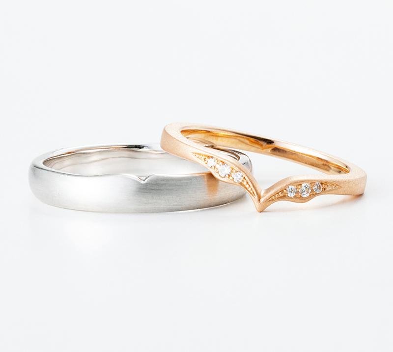 lacus no3・結婚指輪・Blue Dove