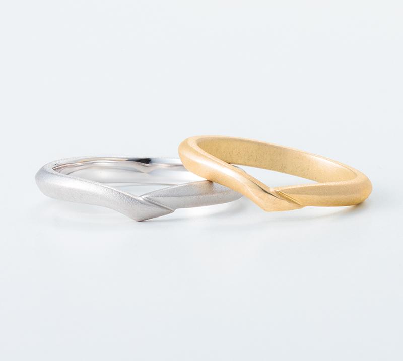 sanctus no6・結婚指輪・Blue Dove