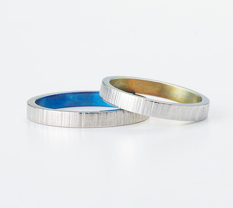 history no2・結婚指輪・Blue Dove