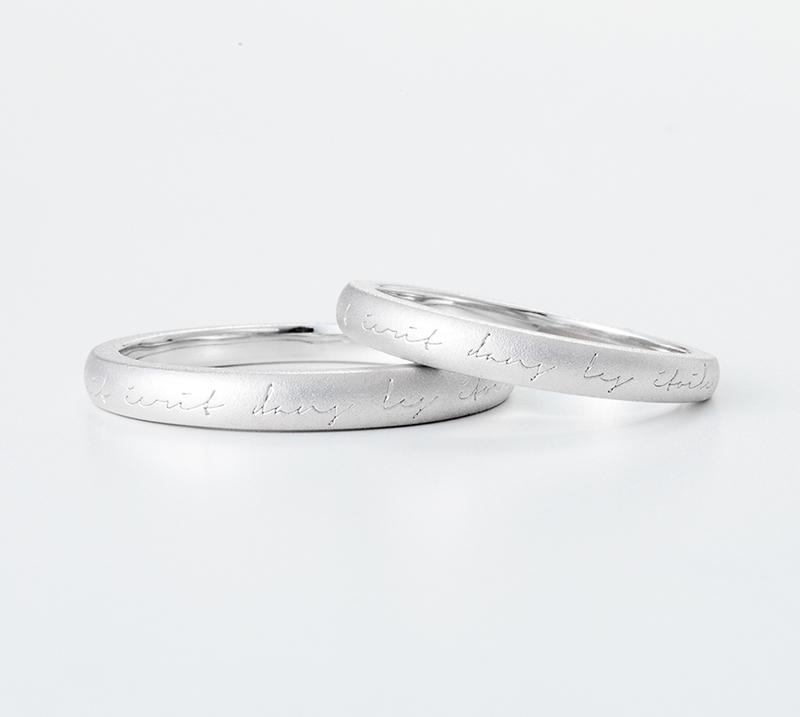 ventus no4・結婚指輪・Blue Dove