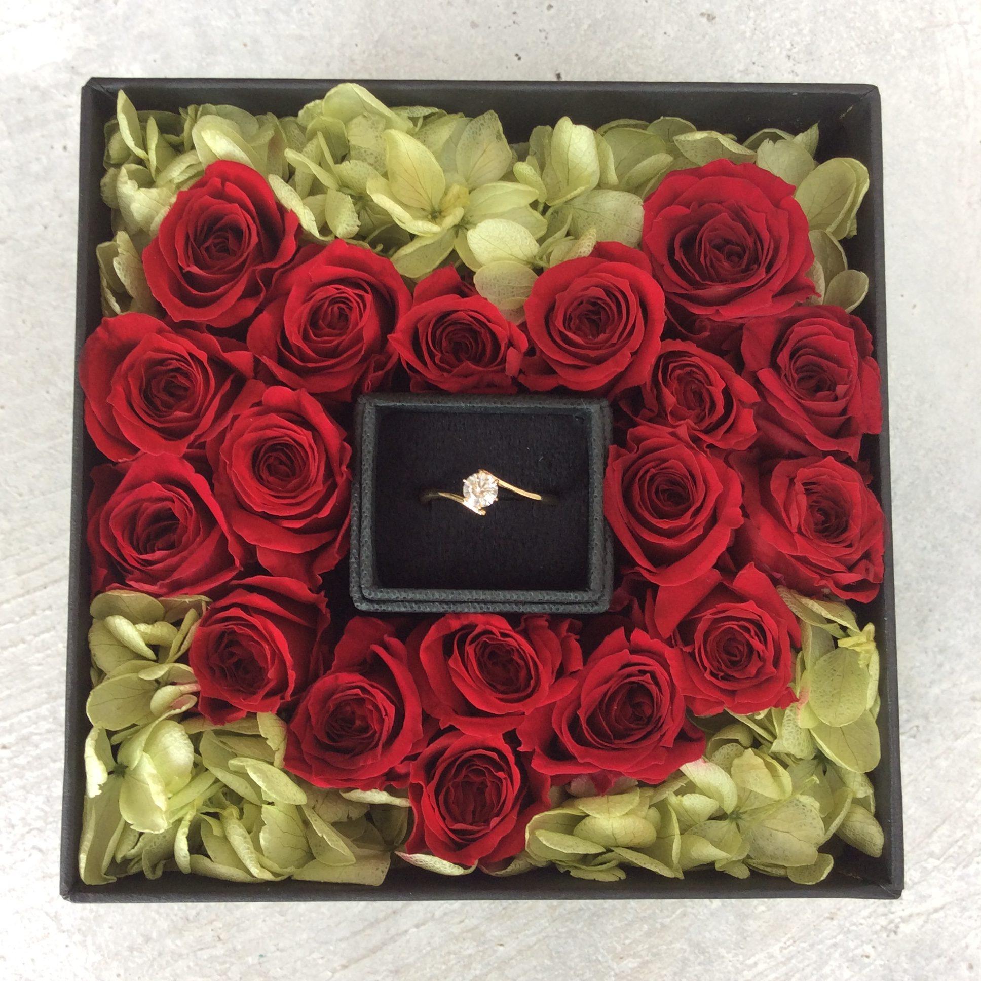 *プロポーズ 婚約指輪*