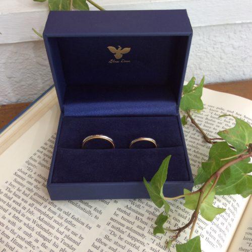 結婚指輪~コンビリング~