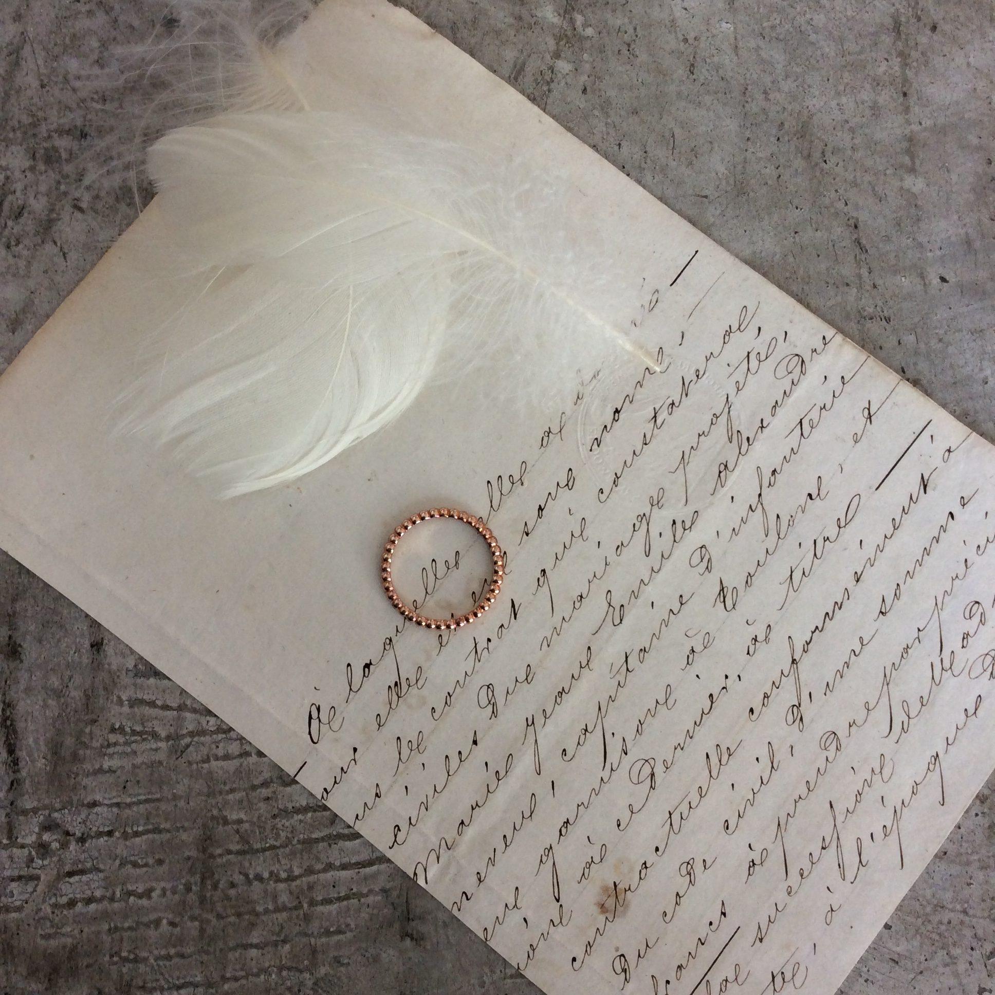 結婚指輪 ~ピンクゴールド~