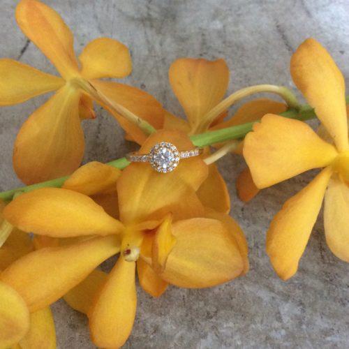 BlueDove婚約指輪