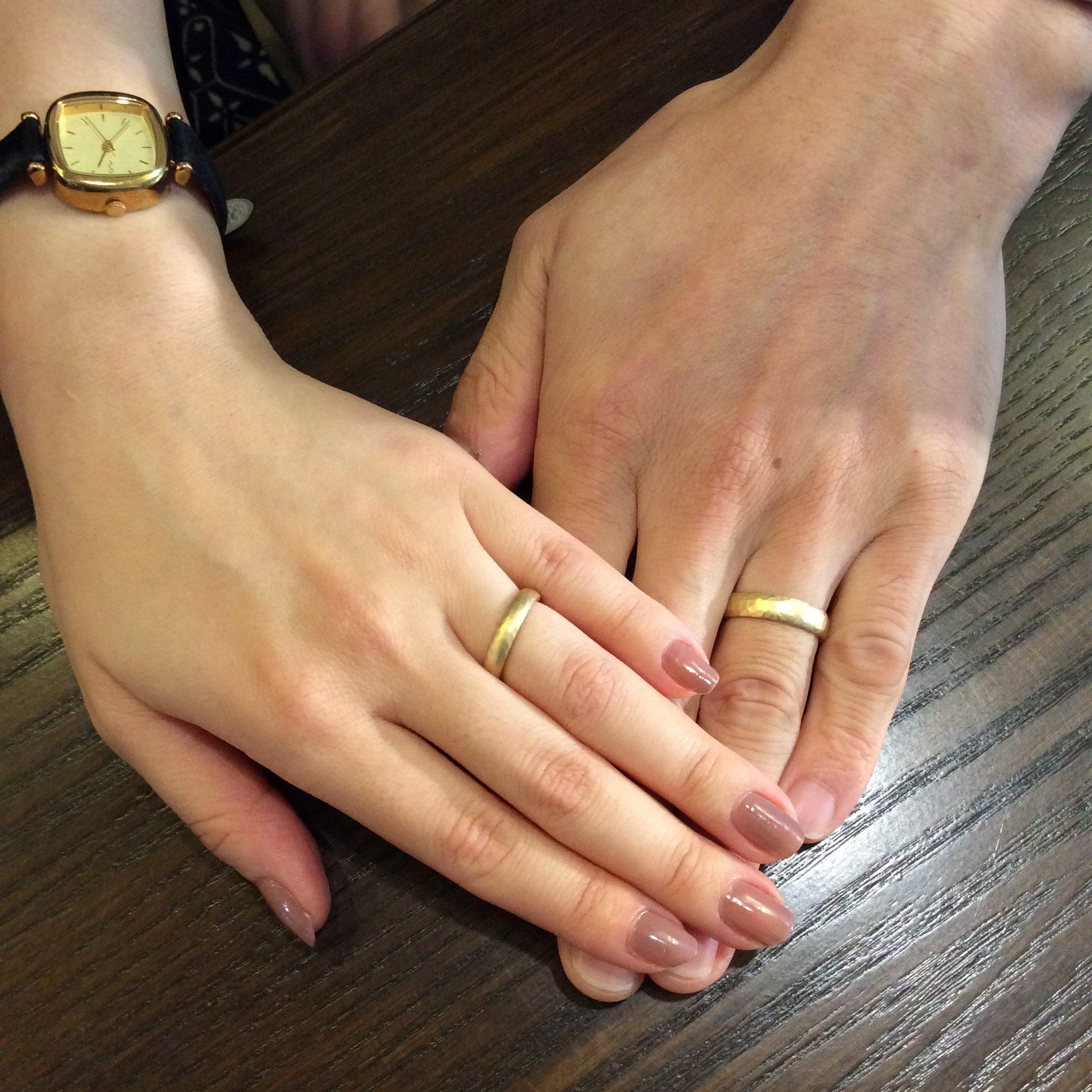 おふたりだけの結婚指輪