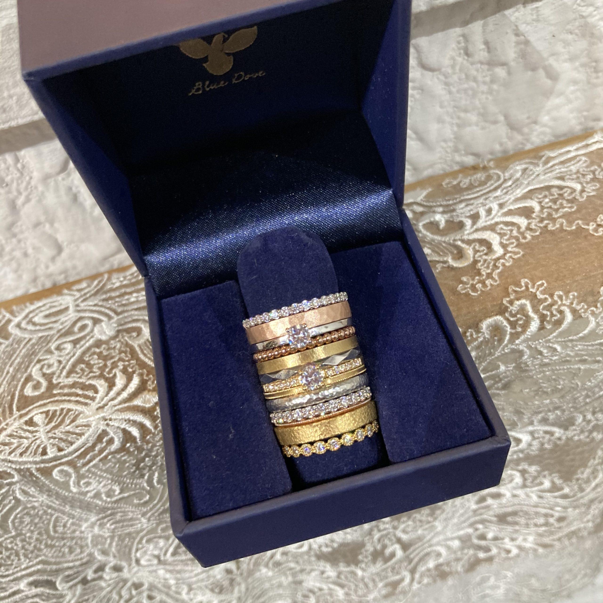 ◆重ね付け対応 婚約指輪◆