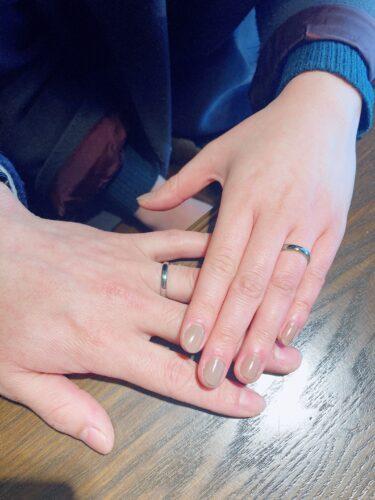 結婚指輪~チタン~