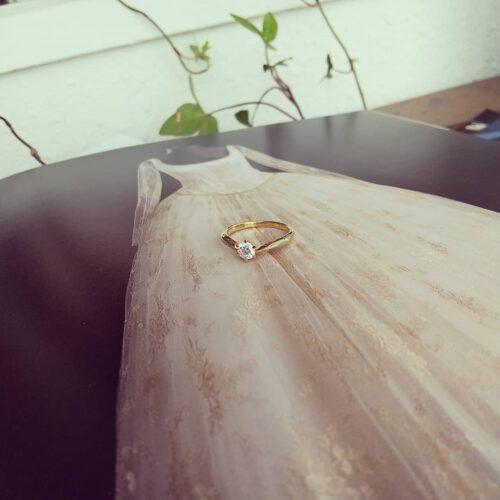 婚約指輪〈mare no3〉のご紹介