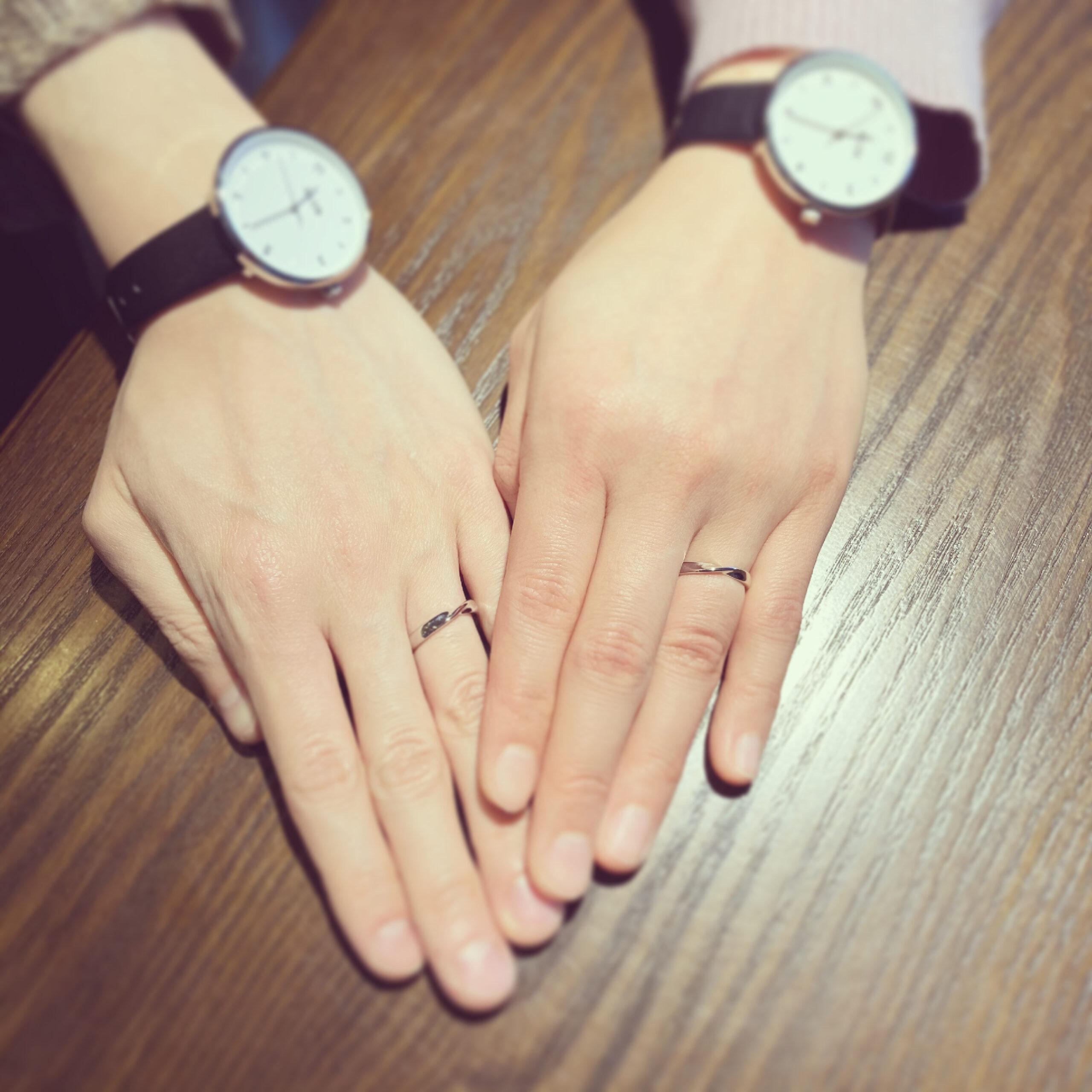 結婚指輪~ツイストデザイン~
