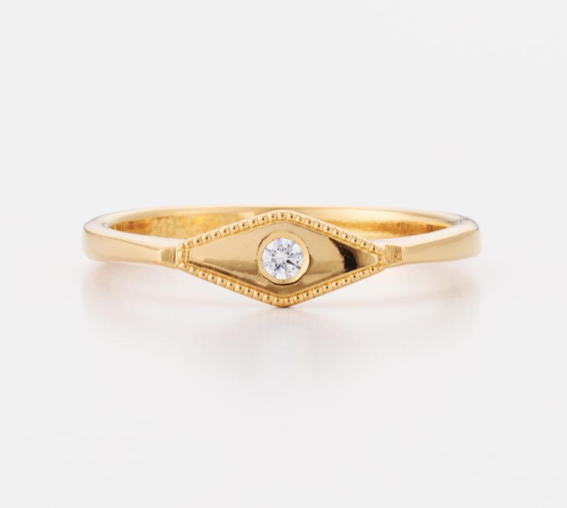 Golden Eye Ring